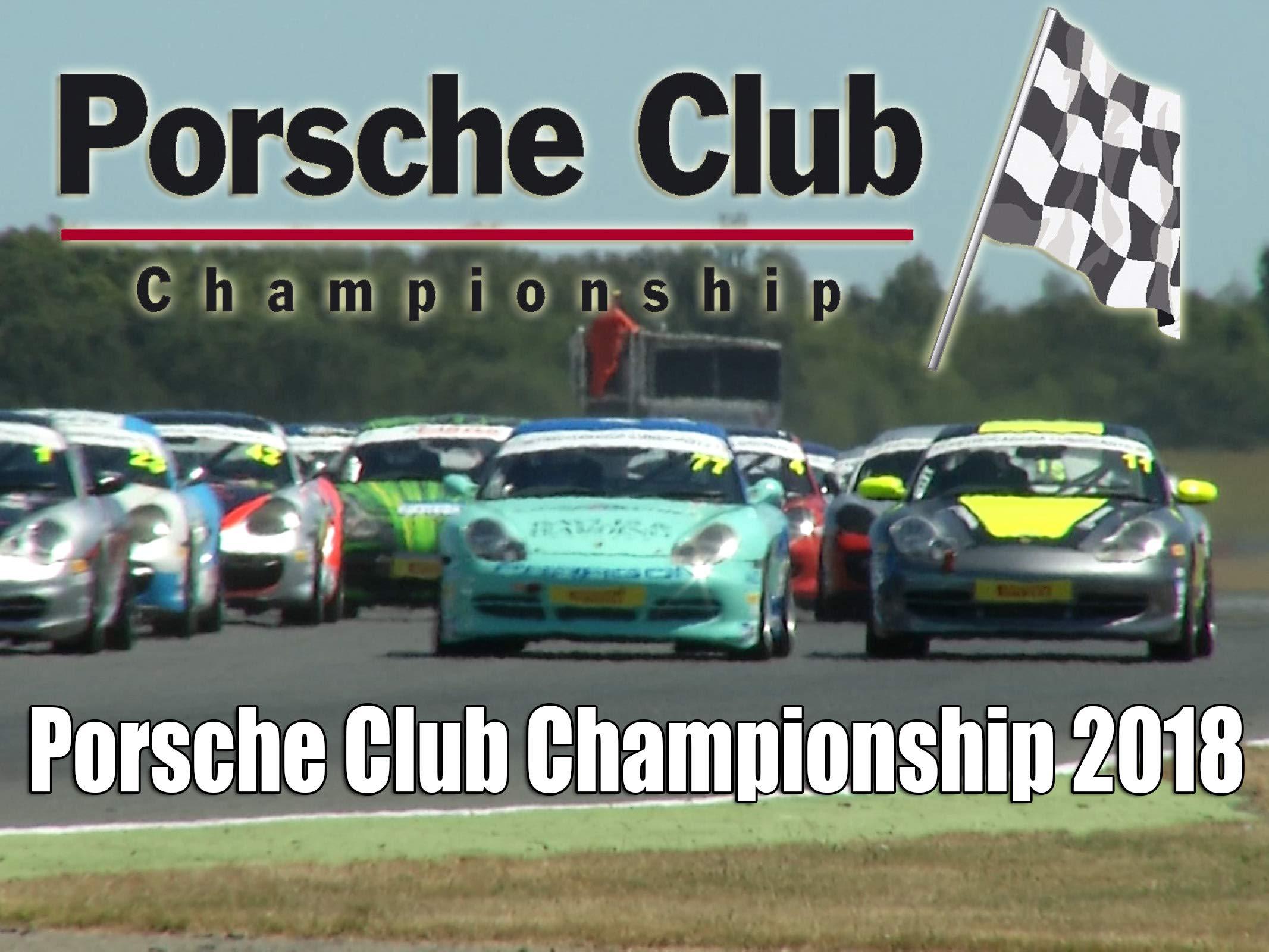 Porsche Club Championship 2018 on Amazon Prime Video UK