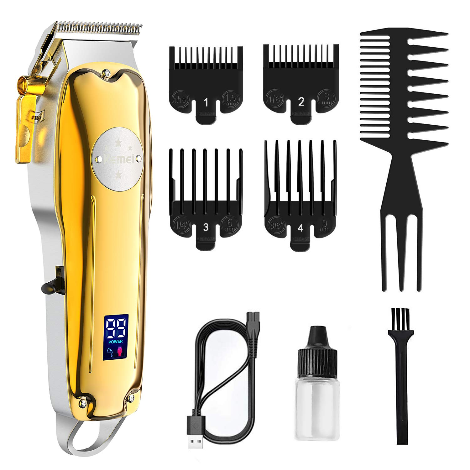 Hair Clippers for Men Cordless Professional