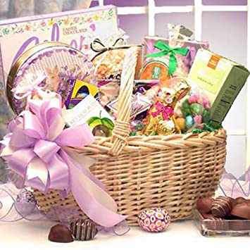 Amazon deluxe easter gift basket gourmet chocolate gifts deluxe easter gift basket negle Gallery