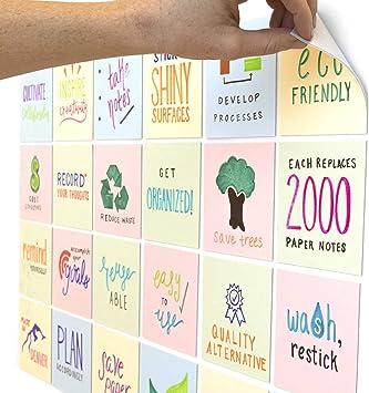 Dry Erase Sticky Notes 24-Pack
