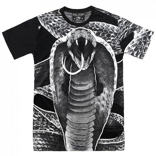 Killstar Herren T-Shirt Kobra - Cobra Mens Shirt All-Over-Print on Chest,  Back and Sleeves: Amazon.de: Bekleidung
