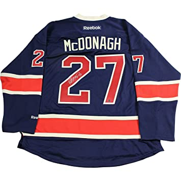 Image Unavailable. Image not available for. Color  Ryan McDonagh Signed New  York Rangers Navy Heritage Jersey f0ff73b5f