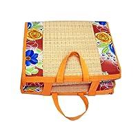 Happy Products Cotton Cushion Mat, 4x6 ft, Multicolour