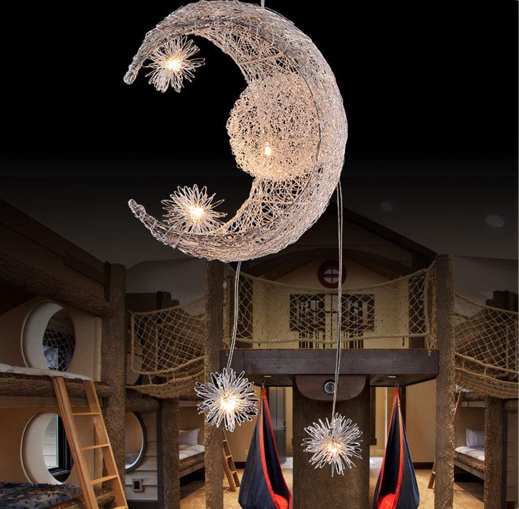NIUZIMU Kronleuchter Pendelleuchte Leuchter Die Kreative Einfache Mode Kristall Kristall Kristall Kronleuchter Lampe Schlafzimmer Für Kinder Restaurant Haushaltsbeleuchtung (Farbe   1 ) 019ea2