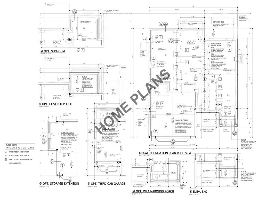 Amazon Com Sq Ft Htd Unht Plan P 1027 Homehouse