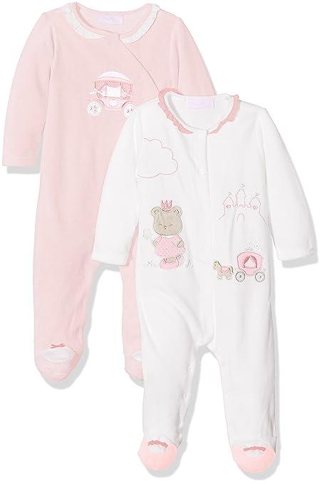 Mayoral 2731 Set 2 Pijamas Punto tundosado, Bebés, Rosa Baby, 4M-6M: Amazon.es: Ropa y accesorios