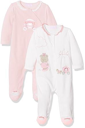 Mayoral 2731 Set 2 Pijamas Punto tundosado, Bebés, Rosa Baby ...
