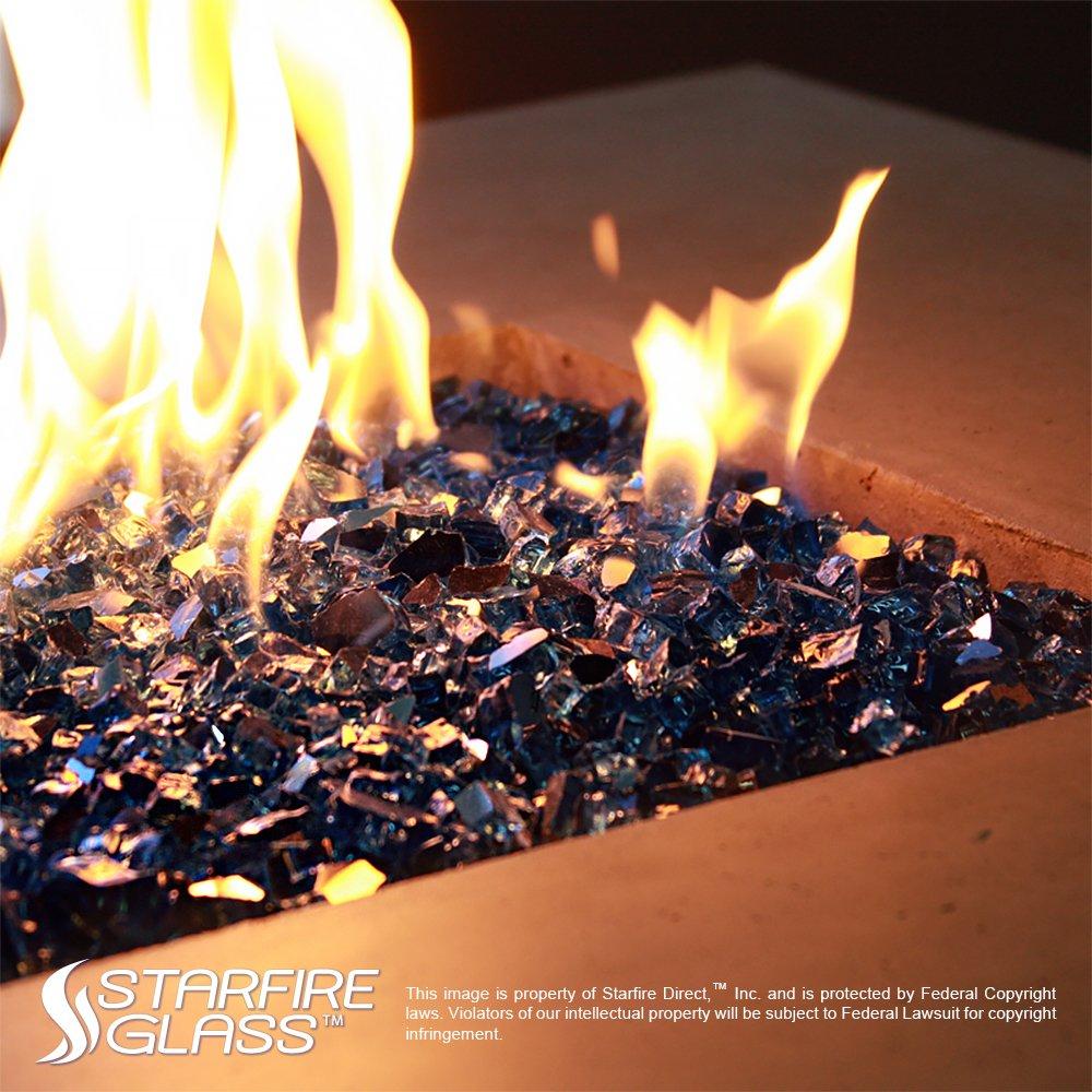 Starfire Glass 10-Pound Fire Glass