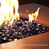 "Starfire Glass 10-Pound ""Fire Glass""  1/2-Inch"