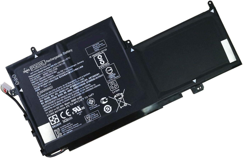 Dentsing PG03XL 11.55V 65Wh/5680mAh 3-Cell Laptop Battery Compatible with HP Spectre X360 15 AP011DX 15-AP000 AP000NA AP000NF AP000NX Series Notebook PGO3XL 831532-421 831532-422 831758-005 HSTNN-LB7C