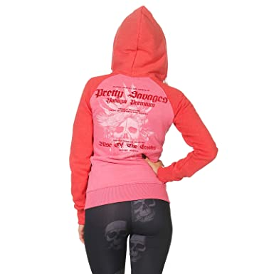 Yakuza Premium Damen Sweatjacke Pink 2543 Ghz bY76mfgvIy