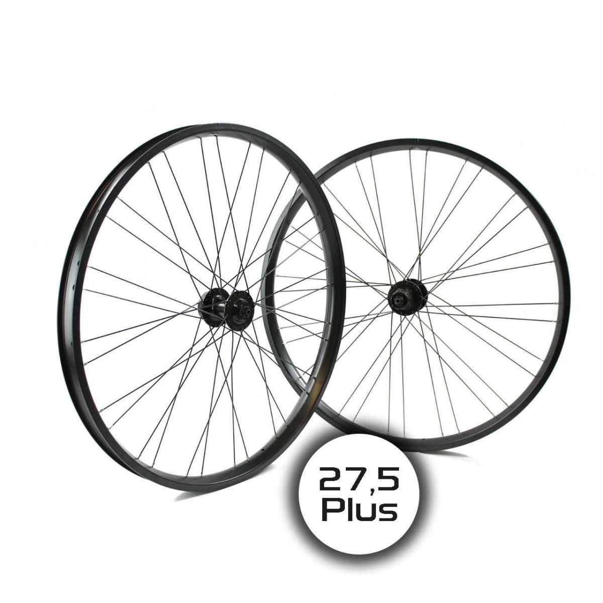 Ridewill Bike Paar Räder MTB 27,5 + Plus Optisches 8 – 10 Geschwindigkeit Schwarz (Räder MTB) Pair Wheel MTB 27,5 + Plus Disc 8 – 10 Speed schwarz (MTB Wheel)