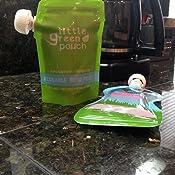 Amazon.com: Reutilizable bolsa alimentosGrande 7 onzas ...