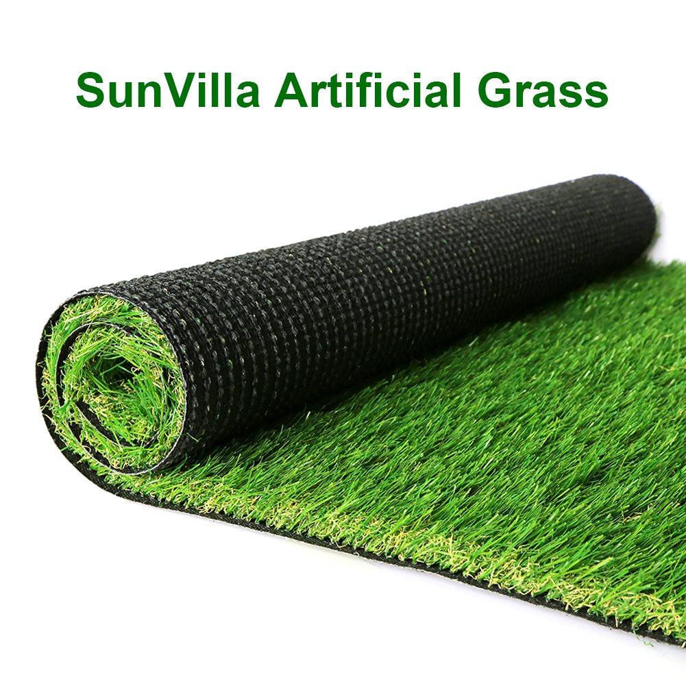 SunVilla SV7'X13' Realistic Indoor/Outdoor Artificial Grass/Turf 7 FT X 13 FT (91 Square FT) by SunVilla (Image #8)