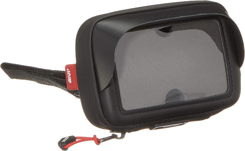 Givi S952b Navi Tasche 3 5 Zoll Mit Sonnenschutz Mit Spiegel Halterung Auto