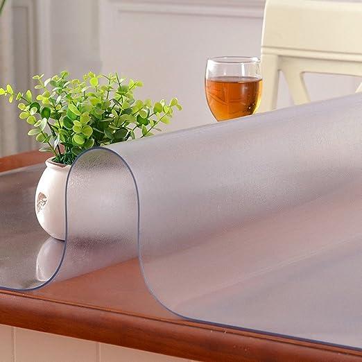 HM&DX Helado Transparentes Manteles de Mesa Impermeable PVC ...