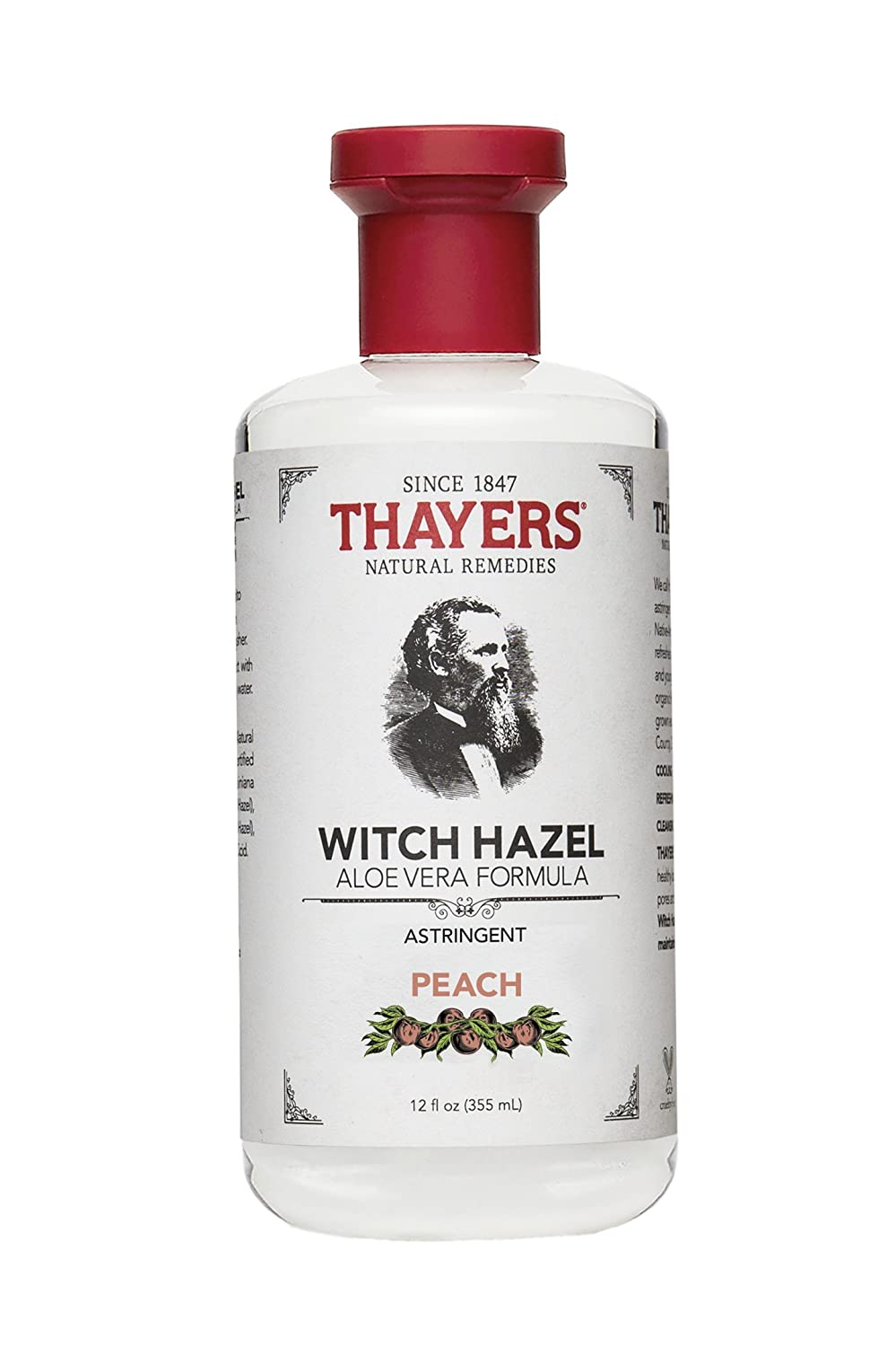 Thayer's Peach Witch Hazel Astringent with Aloe VeraPackage may vary Thayers 7004