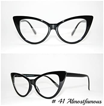 a40a2bf353a Office Rockabilly Black Retro Geek Vintage Wayfarer Nerd Frame Fashion  Black Round clear lense glasses