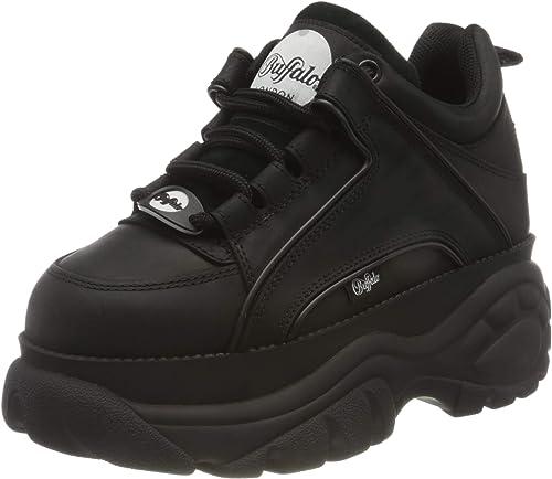Buffalo 1339 14 2 0 Damen Sneaker Schwarz 37 Eu Mainapps Amazon De Schuhe Handtaschen