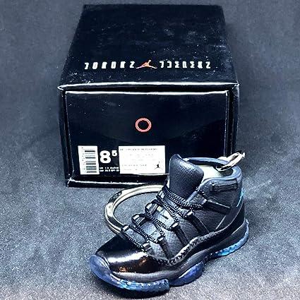 160bcfd6b5983 Amazon.com : Air Jordan XI 11 Retro High Gamma Blue Sneakers Shoes ...
