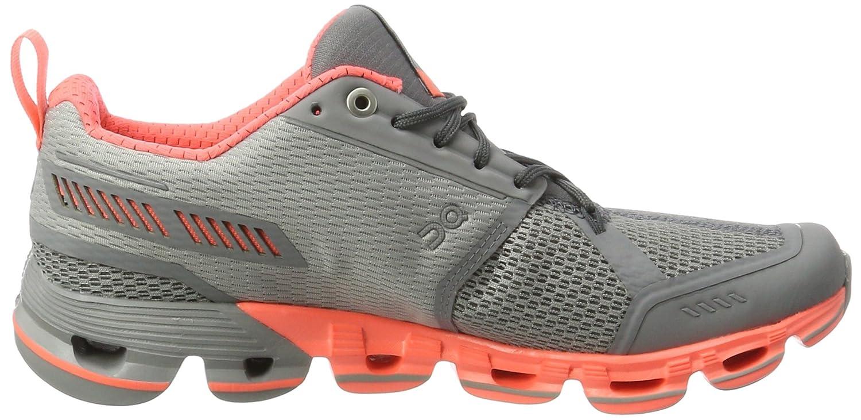 On Running Cloudflyer Slate/Flash W 7.5, Zapatillas de Running para Mujer, Gris, 38.5 EU: Amazon.es: Zapatos y complementos