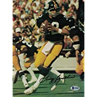 $69 » Terry Bradshaw Autographed/Signed Pittsburgh Steelers Magazine Page BAS 27091 - Beckett Authentication