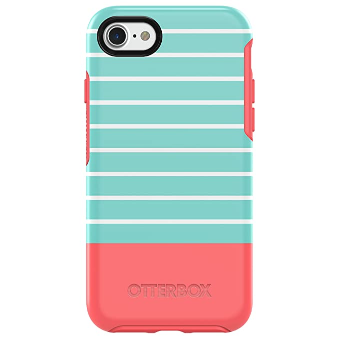newest collection f8fc0 796ae OtterBox Symmetry Series Case for iPhone 8 & iPhone 7 (NOT Plus) -  Frustration Free Packaging - Halftone (Aqua Mint/Candy Pink/Halftone  Graphic)