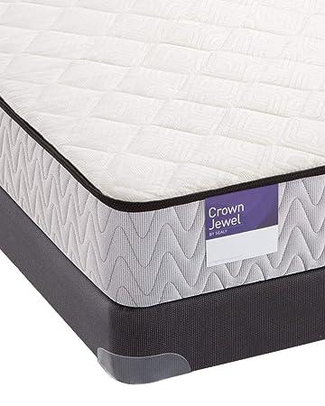 Amazon Com Sealy Crown Jewel Basic Foam Aquamarine Mattress Queen