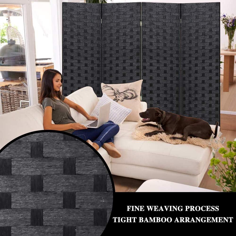 Xxfbag Raumteiler Und Faltbarer Sichtschutz Aus Holz Mit 4