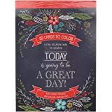 Today Is Going To Be A Great Day | 20 Inspirational and Exquisitely Designed Cards To Color | Expressions of Faith to Inspire
