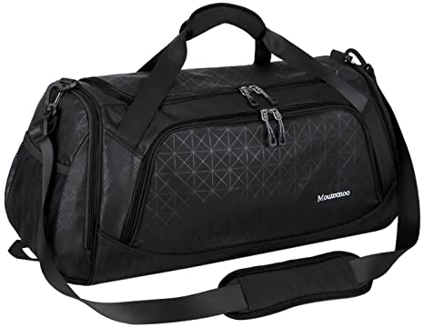 4321506ba6 Sports Travel Duffel Gym Bag for Men Women with Shoes Compartment -  Mouteenoo (One Size