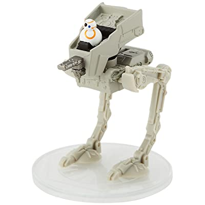 Hot Wheels Star Wars First Order at-ST Starship: Toys & Games