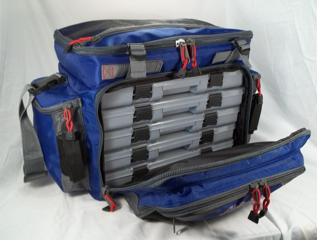 Strike King Pro Grade Verticle Tackle Box with Five 1400 Series Organizers