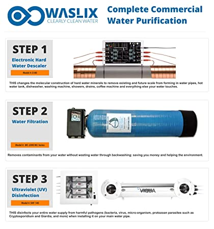 Large Commercial/Industrial Whole Water Filtration System