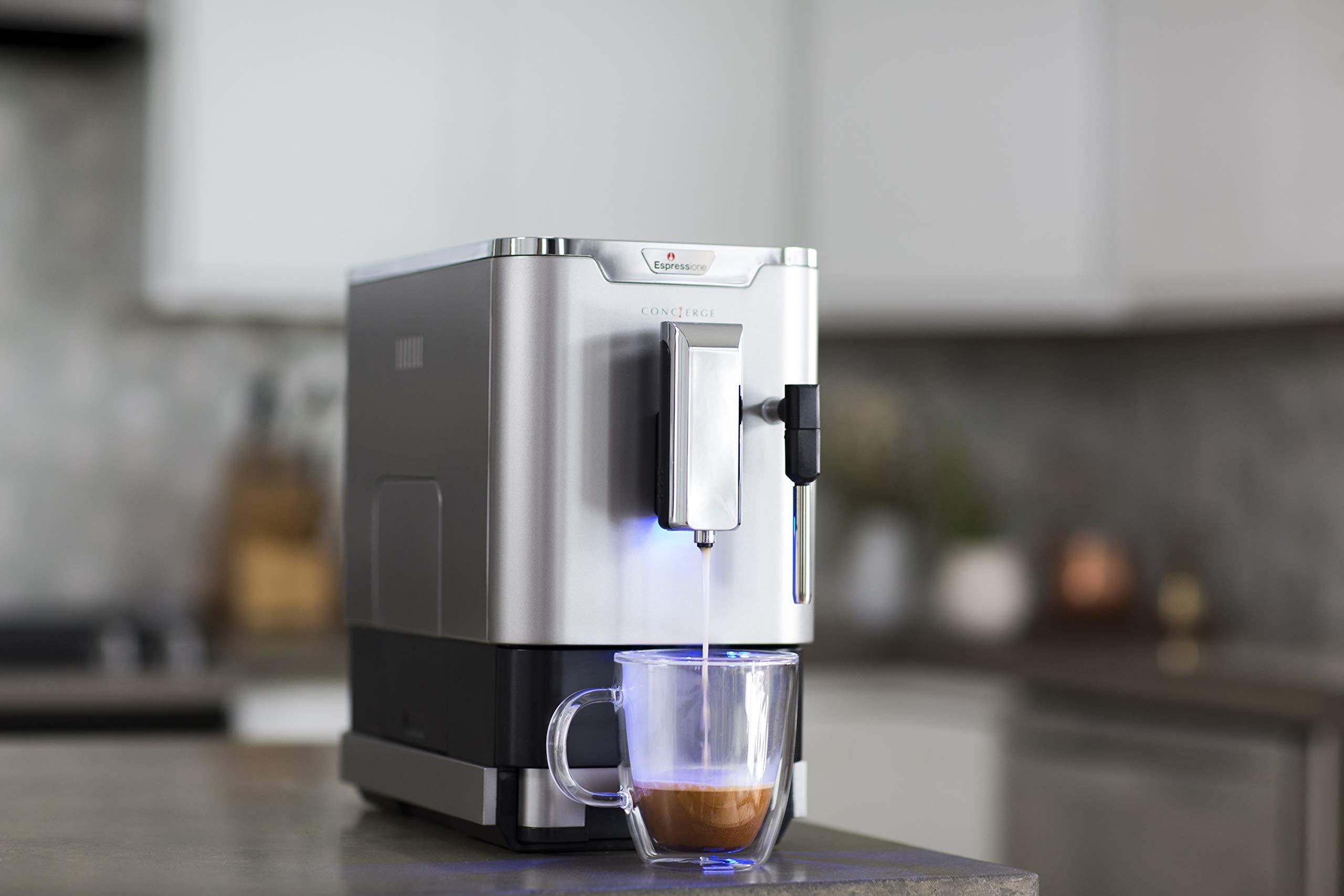 Espressione 8212S Fully Automatic Espresso Machine Silver by Espressione (Image #2)