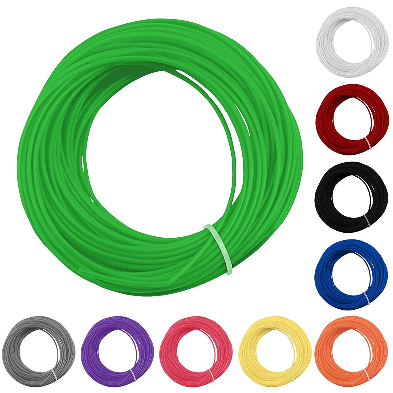 10 Colors Rolls 3D Printer Pen Filament PLA 1.75mm Multi Various Colours 20M Meters Per Roll 58g