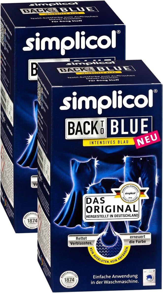 Simplicol 2533 Color de renovación Azul – 2 x 750 g: Amazon ...
