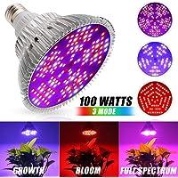 Iluminación para Plantas 100W Led Grow Bombilla Espectro