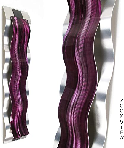 """Rhythmic Curves Wall Sculpture"