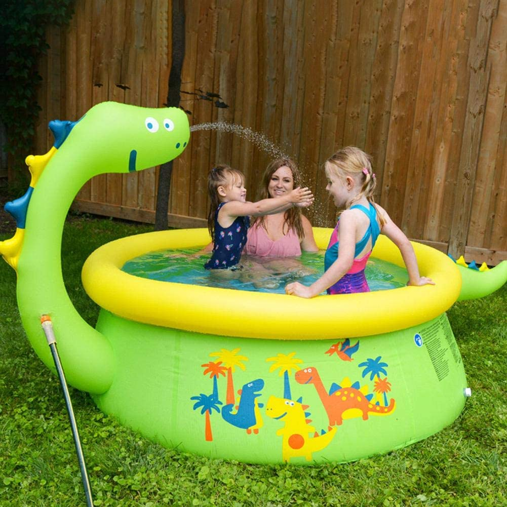 Inflatable Pool Toys, Inflatable Paddling Pool,Family Inflatable Pool,Kids Pools for Gardens