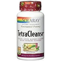 Solaray Guaranteed Potency Tetra Cleanse, Capsules | 60 Count