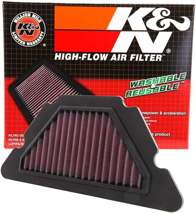High Flow Air Filter For 2013 Yamaha FZ6R Street Motorcycle K/&N YA-6009