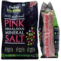 Healthy Being Pink Himalayan Rock Salt Pouch, 1 Kg