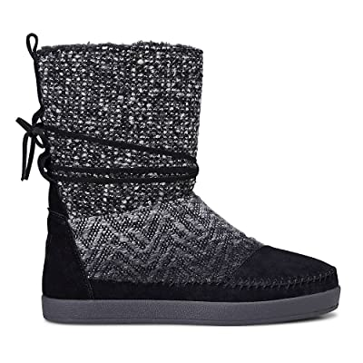 TOMS Suede Jacquard Women's Nepal Boots | Boots
