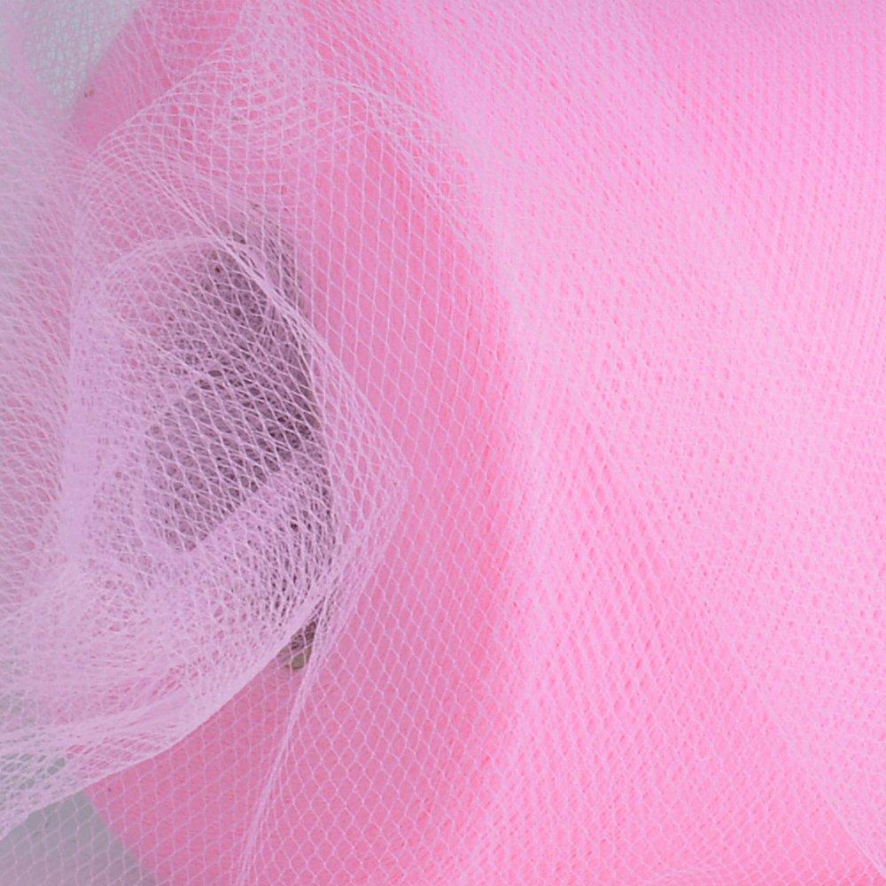 91m*15cm Rollos de Tul Carrete de Tulle Rosa Decoraci/ón Boda Fiesta Bricolaje Rosa-100 Yardas