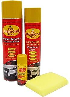 Nodi Shine Metal Shine Car Care Kit Cleaner Polish Spray Shiner