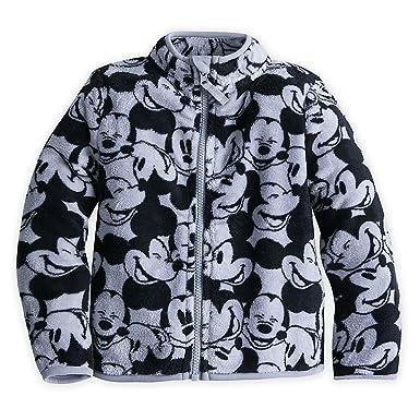 fbf0afec414 Amazon.com  Disney Mickey Mouse Fleece Jacket for Boys Gray  Clothing