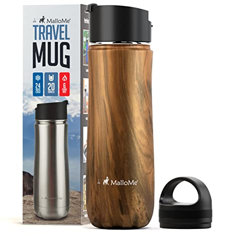 20 Oz Mallome Stainless Water Mug Thermos Bpa Tumbler7 Bottle Triple Flask Walled Cup Coffee ColorsTwo Travel Combo – Insulated Steel Vacuum F3KcTl1J