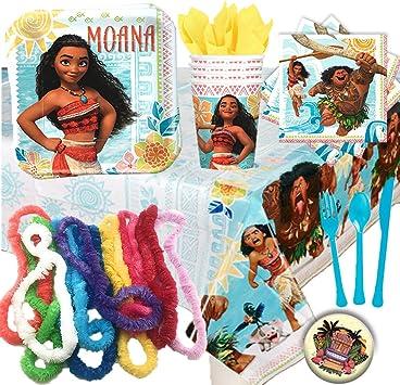Amazon.com: Disney Moana - Pack de 16 vasos para fiesta de ...