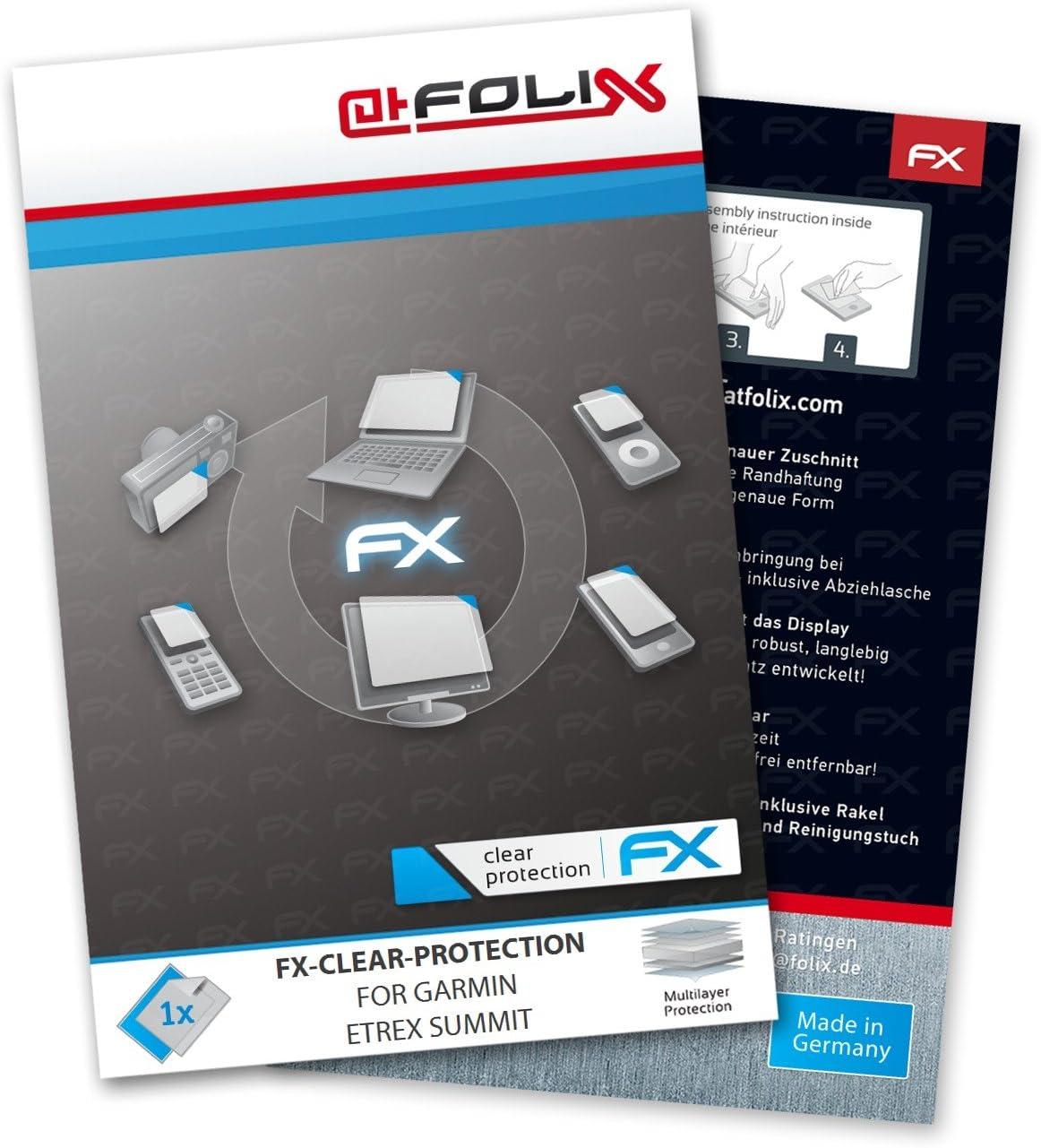 atFoliX FX-Clear, Garmin Etrex Summit Navegante 1 pieza(s) - Protector de pantalla (Garmin Etrex Summit, Navegante, Garmin, Garmin Etrex Summit, Resistente a rayones, Transparente, 1 pieza(s))